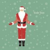 claus милый santa Стоковое Изображение RF