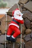claus приходя santa Стоковое Изображение RF