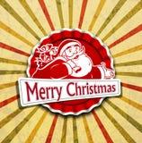 claus ретро santa Стоковое Изображение