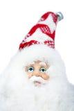 claus 2009 täta santa upp royaltyfri bild