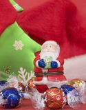 Claus antique Santa Photographie stock libre de droits