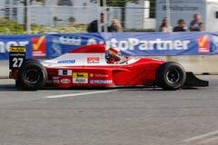 Claus Bertelsen dans un Formule 1 de Ferrari Jean Alesi Photo stock
