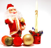 claus garnering santa arkivfoto