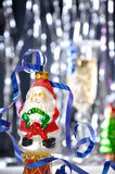 claus glass santa toy Royaltyfri Fotografi