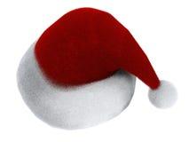 claus hatt s santa Royaltyfria Foton