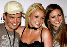 Claus Hjelmbak, Britney Spears and Alli Sims Royalty Free Stock Photos