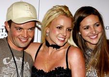 Claus Hjelmbak, Britney Spears e Alli Sims Fotografie Stock Libere da Diritti