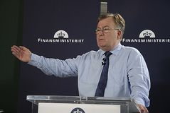 CLAUS HJORT FREDERIKSEN _DANISH MINISTER FOR FINANCE Royalty Free Stock Photography