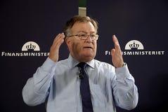 CLAUS HJORT FREDERIKSEN _DANISH MINISTER FOR FINANCE Royalty Free Stock Image