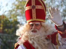 claus holland santa Royaltyfria Foton