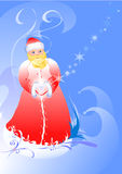 claus ilustration Santa Obrazy Royalty Free