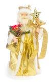 claus isolerade den santa toyen Royaltyfria Bilder