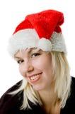 claus kobieta Santa Fotografia Royalty Free
