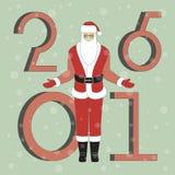 claus śliczny Santa Fotografia Royalty Free