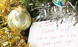 claus listowy Santa Obraz Royalty Free
