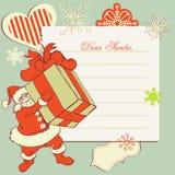 claus listowy Santa Zdjęcie Royalty Free