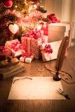 claus listowy Santa Fotografia Stock