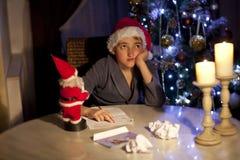 claus listowy Santa Zdjęcia Royalty Free