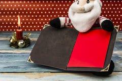 claus listowy Santa Obrazy Royalty Free