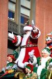 claus lycklig mrs santa Royaltyfria Bilder