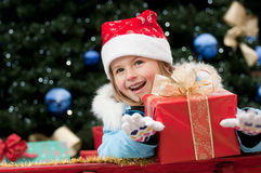 claus mały Santa fotografia stock
