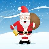 claus śmieszny Santa ilustracja wektor