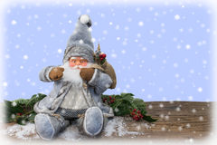 claus śnieg Santa Zdjęcia Royalty Free