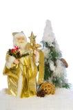 claus nytt santa år Arkivbilder
