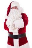 claus odizolowywał Santa Fotografia Stock