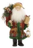 claus odizolowywał Santa biel zdjęcia royalty free