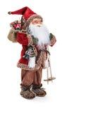 claus postać Santa plenerowa scena zdjęcie royalty free