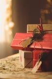 claus prezenty Santa Zdjęcie Stock