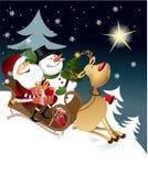 claus przyjaciele Santa Zdjęcia Stock