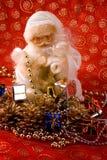 claus rich santa Royaltyfri Foto
