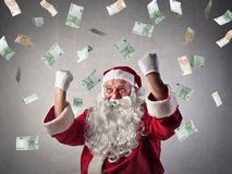 claus rich santa Arkivfoton