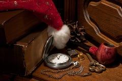 claus rzeczy Santa Zdjęcia Royalty Free