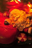 claus Santa śpiący Obrazy Stock