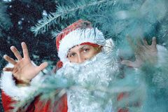 claus santa новые yaer и рождество Стоковая Фотография