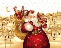 claus Santa royalty ilustracja