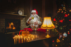 claus santa Fotografering för Bildbyråer