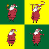claus santa Στοκ Εικόνες