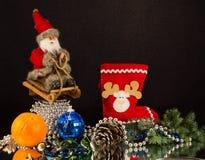 claus santa Royaltyfria Bilder