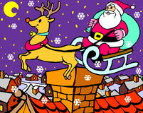 Claus Santa deux illustration stock
