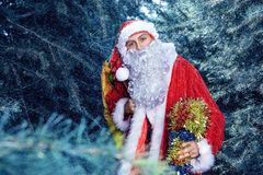 claus santa ny yaer och jul Royaltyfria Bilder