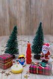 claus santa snowman Royaltyfria Foton