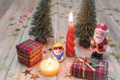 claus santa snowman Royaltyfri Foto