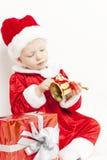 claus små santa Arkivbild