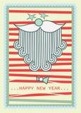 claus target1641_0_ ty szczęśliwy nowy Santa rok Zdjęcia Royalty Free