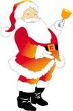 claus02圣诞老人 库存图片