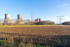 Clauscentrale power station in Maasbracht, Netherlands Royalty Free Stock Photos